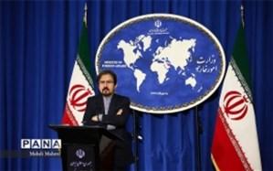 ابراز تاسف سخنگوی وزارت امور خارجه از سقوط یک فروند هواپیمای ترکیه ای در خاک ایران