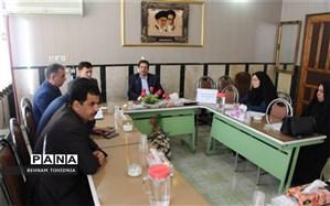 جلسه شورای برنامه ریزی سازمان دانش آموزی استان برگزار شد