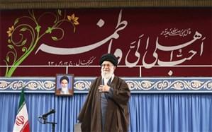 رهبر معظم انقلاب: دشمنان طراحی کردند که به خیال خود کار جمهوری اسلامی را در اسفند ماه تمام کنند