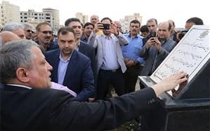 بلوار آیت الله هاشمی رفسنجانی در سمنان افتتاح و بهره برداری شد