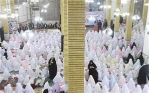 600نفر از دانش آموزان دختر دوره ابتدایی شهرستان کوهدشت رسیدن به سن تکلیف را جشن گرفتند