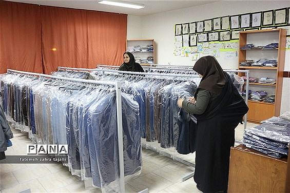 نمایشگاه پوشاک نوروزی سازمان دانش آموزی استان سمنان