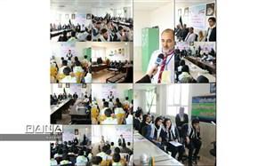 برگزاری نهمین دوره انتخابات شورای دانش آموزی در استان خراسان شمالی
