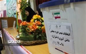 انتخابات نهمین دوره مجلس دانش آموزی برگزار شد