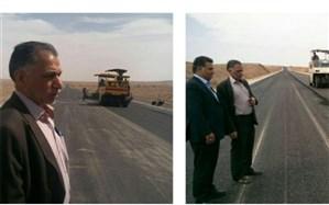 جاده یزد - بافق اردیبهشت ماه سال آینده به بهره برداری خواهد رسید