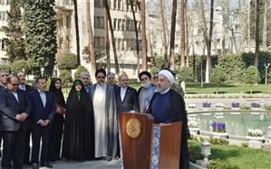 روحانی: با پارازیت نمیتوان سخنان مردم را نشنیده گرفت