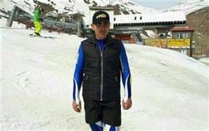 کسب مقام اول اسکی آلپاین کشور