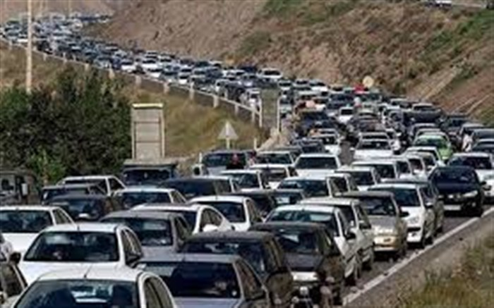 ترافیک سنگین در محورهای هراز و کندوان