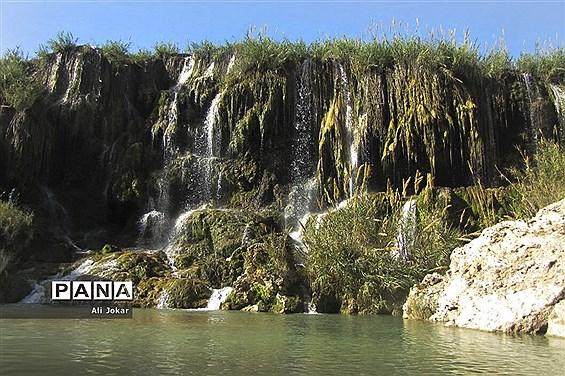 آبشار فدامی در داراب