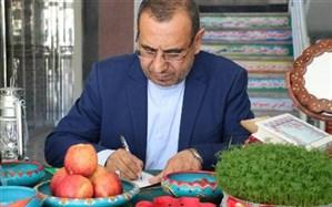 پیام تبریک مدیرکل آموزش و پرورش مازندران به مناسبت فرا رسیدن سال نو
