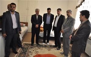 بازدید مدیر آموزش و پرورش شهریاراز ستاد اسکان فرهنگیان