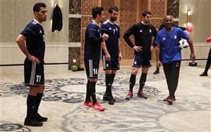 برگزاری آخرین تمرین تیم ملی فوتبال ایران در سال 96