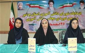 اعضای مجلس و شورای دانش آموزی استان بوشهر مشخص شدند