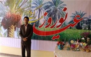 پیام تبریک رئیس اداره آموزش و پرورش آببخش به مناسبت سال نو
