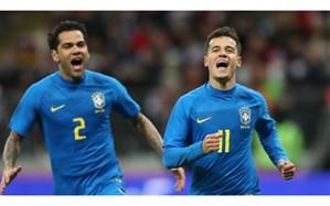 دیدار دوستانه ملی؛ سلسائو به میزبان جام جهانی درس فوتبال داد