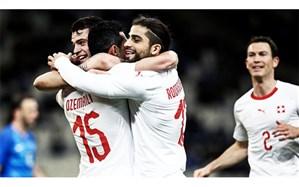 دیدار دوستانه ملی؛  سوئیس فوتبال دفاعی را شکست داد