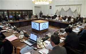 بررسی سیاستهای فرهنگی تدوین شده برای حمایت از کالاهای ایرانی در جلسه شورای عالی انقلاب فرهنگی به ریاست روحانی