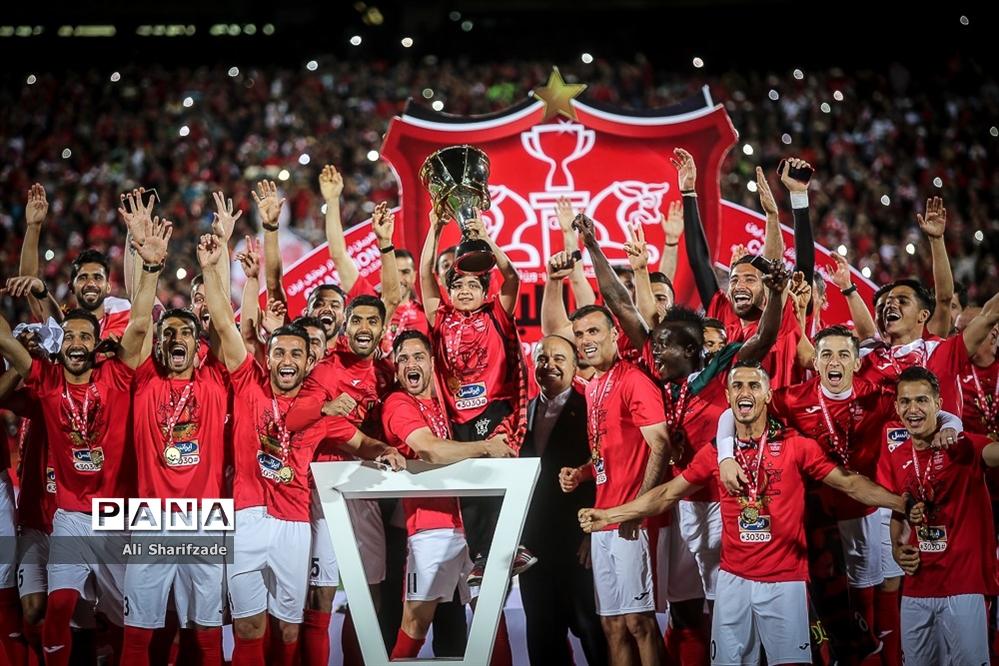 جشن قهرمانی پرسپولیس در لیگ برتر