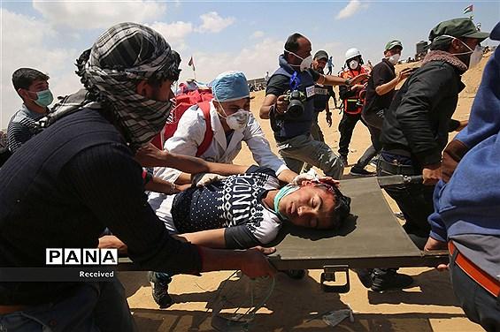 درگیری در نوار غزه در پی انتقال سفارت امریکا