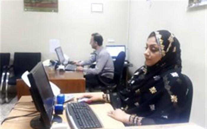 حضور بانوان شاغل درمیراث فرهنگی هرمزگان با پوشش سنتی در محل کار
