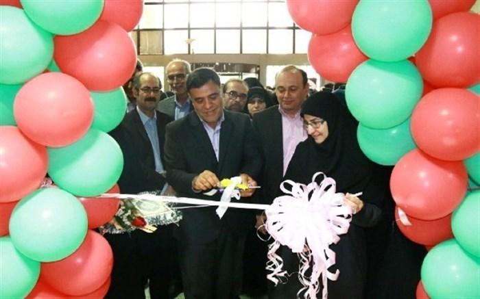 افتتاح نمایشگاه دستهای کوچک، اندیشههای بزرگ در استان سمنان