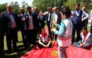 همایش تشکل های دانش آموزی و جشنواره بازی های بومی محلی دانش آموزان پیشتاز شوط برگزار شد