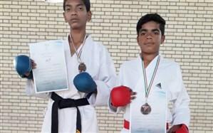 کسب دو مدال برنز توسط دو نونهال رودانی در مسابقات انتخابی تیم ملی کاراته نونهالان