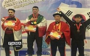 با کسب دو نشان طلا، مددجوی البرزی بالاتر از چشمبادامیها بر سکوی قهرمانی آسیا ایستاد