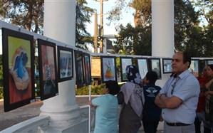 نمایشگاه کاریکاتور هنرمندان انزلی مزه رنگ داشت