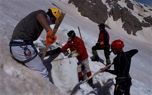 اعزام تیم امدادونجات کوهستان هلالاحمرمازندران به ارتفاعات دنا