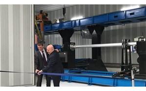 پردهبرداری از بزرگترین چاپگر 3 بعدی فلز جهان + تصویر
