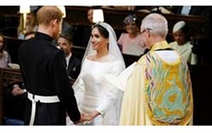 جرج کلونی، اپرا وینفری و جیمز کوردن در مراسم ازدواج نوه ملکه انگلیس + تصاویر