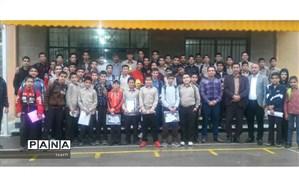 دانش آموزان ممتاز قرآنی،  درسی ،فرهنگی و هنری دبیرستان دکتر حسابی چناران تجلیل شدند