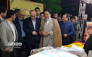 بازدید وزیر اطلاعات از غرفه های مددجویان کمیته امداد استان البرز