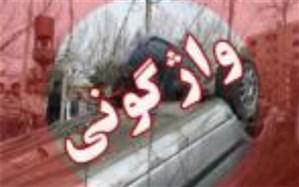 واژگونی خودرو در محور میمند – فیروزآباد یک کشته برجای گذاشت
